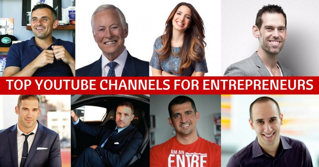 Top YouTube Channels For Entrepreneurs